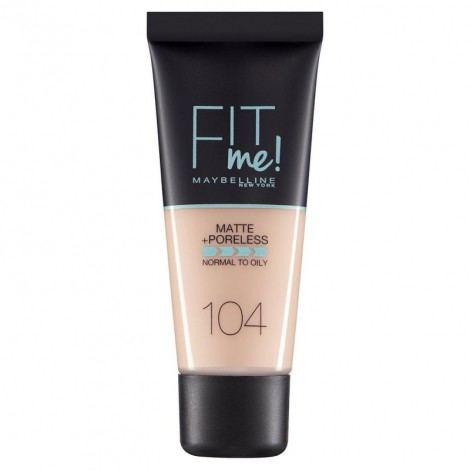 Maybelline Matte+Poreless with clay - Soft Ivory 104