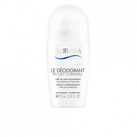 Biotherm Le Déodorant By Lait Corporel Roll-On Anti-Transpitant 75ml