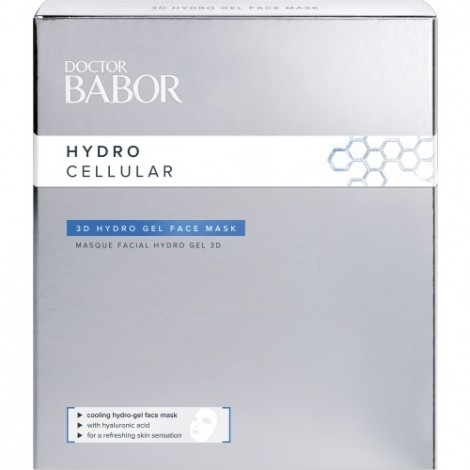 Doctor Babor Hydor Cellular 3D Hydro Gel Face Mask 4x2st