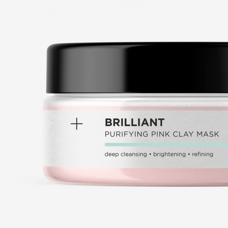 Skinroller Brilliant Purifying Pink Clay Mask 100ml