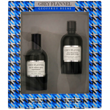 Geoffrey Beene Grey Flannel Edt 120ml + Aftershave Lotion 120ml Giftset