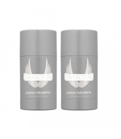 2-pack Paco Rabanne Invictus Deo Stick 75g