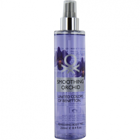 Benetton Smoothing Orchid Refreshing Body Mist 250ml